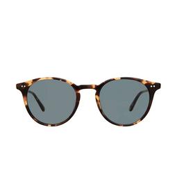 Garrett Leight® Round Sunglasses: Clune Sun color Dark Tortoise Dkt/sfbs.