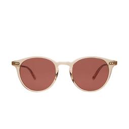 Garrett Leight® Round Sunglasses: Clune Sun color Nude Rosewood Nu/sfprw.