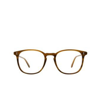 Garrett Leight® Square Eyeglasses: Doreen color Saddle Tortoise Sdt.