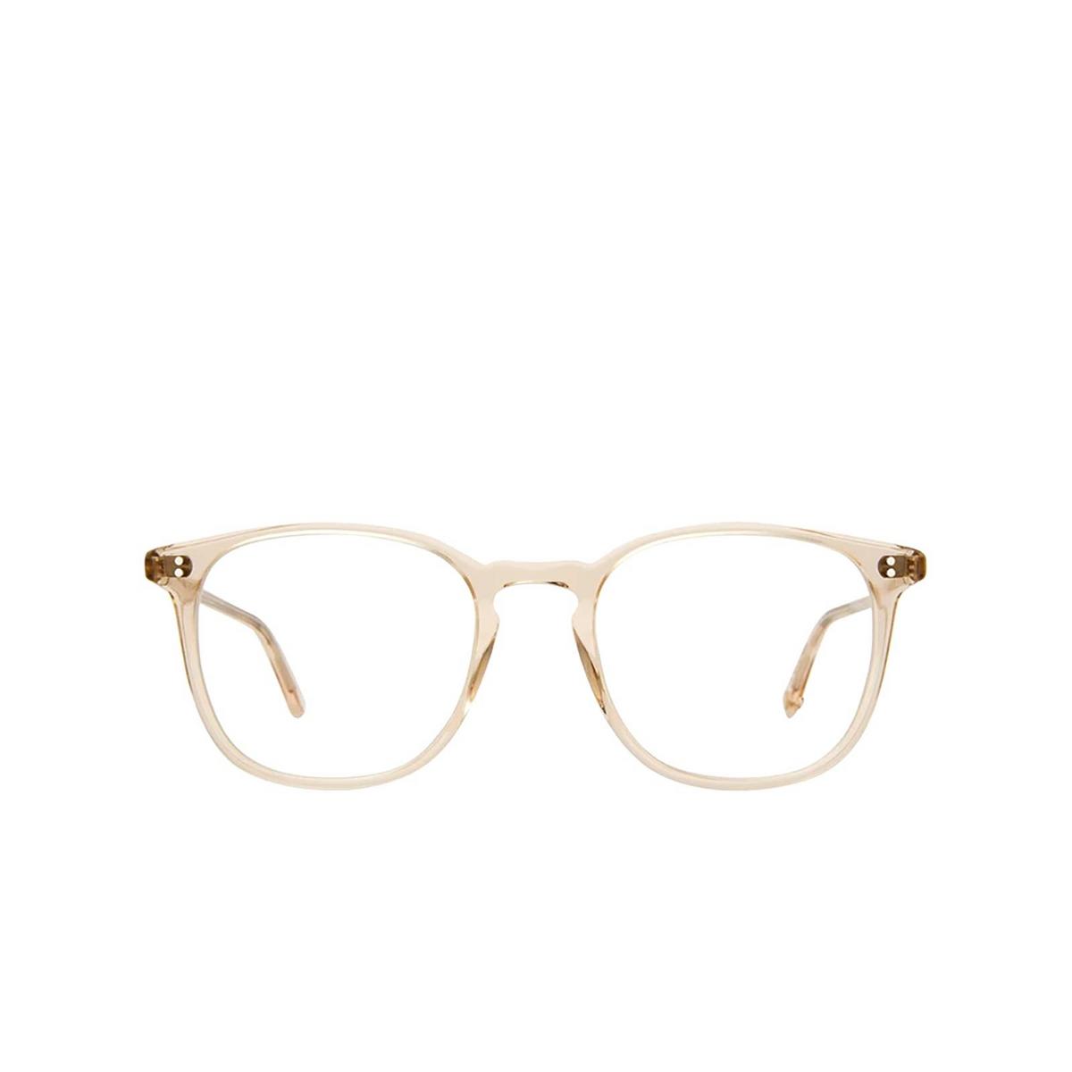 Garrett Leight® Square Eyeglasses: Doreen color Shell Crystal Shcr - front view.