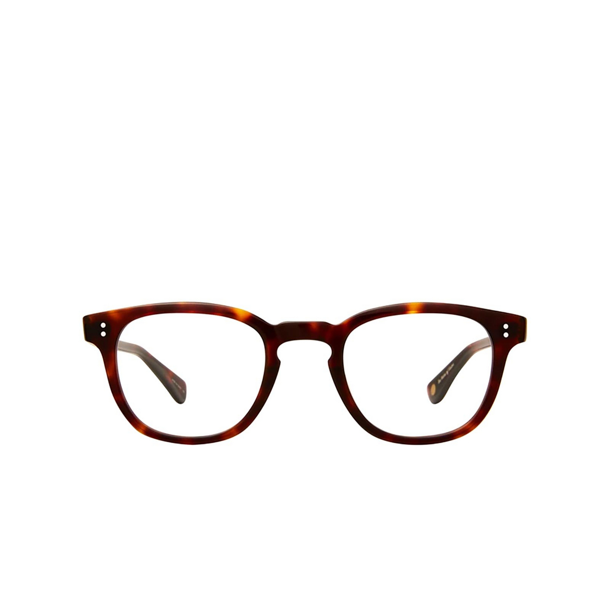 Garrett Leight® Square Eyeglasses: Douglas color 1965 Tortoise 1965TO - front view.