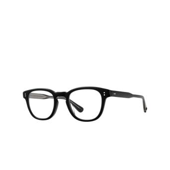 Garrett Leight® Square Eyeglasses: Douglas color Black Bk.
