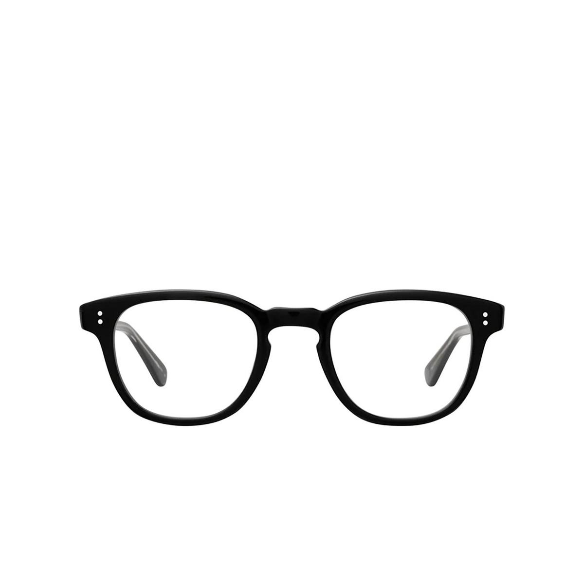 Garrett Leight® Square Eyeglasses: Douglas color Black Bk - front view.