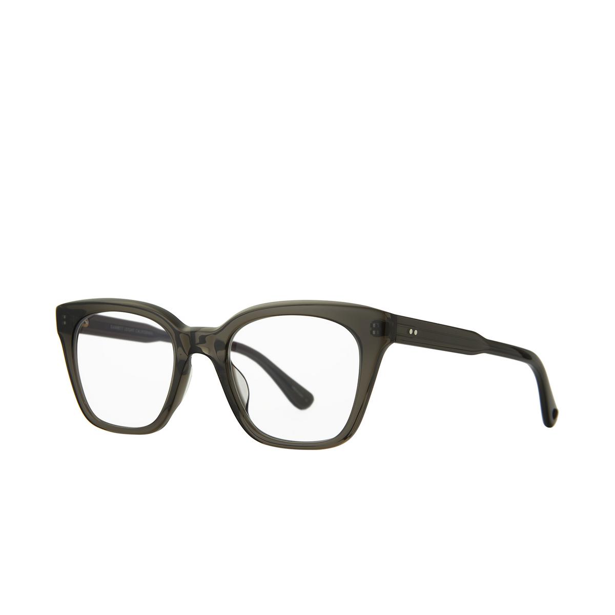 Garrett Leight® Cat-eye Eyeglasses: El Rey color Black Glass Blgl.