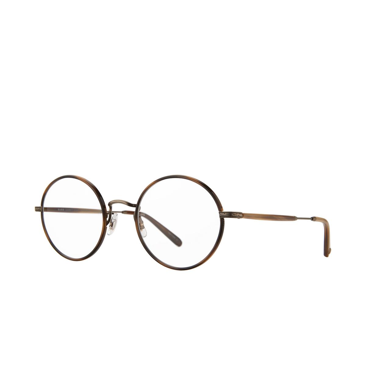 Garrett Leight® Round Eyeglasses: Fonda color Demi Blonde - Antique Gold Db-atg-td.
