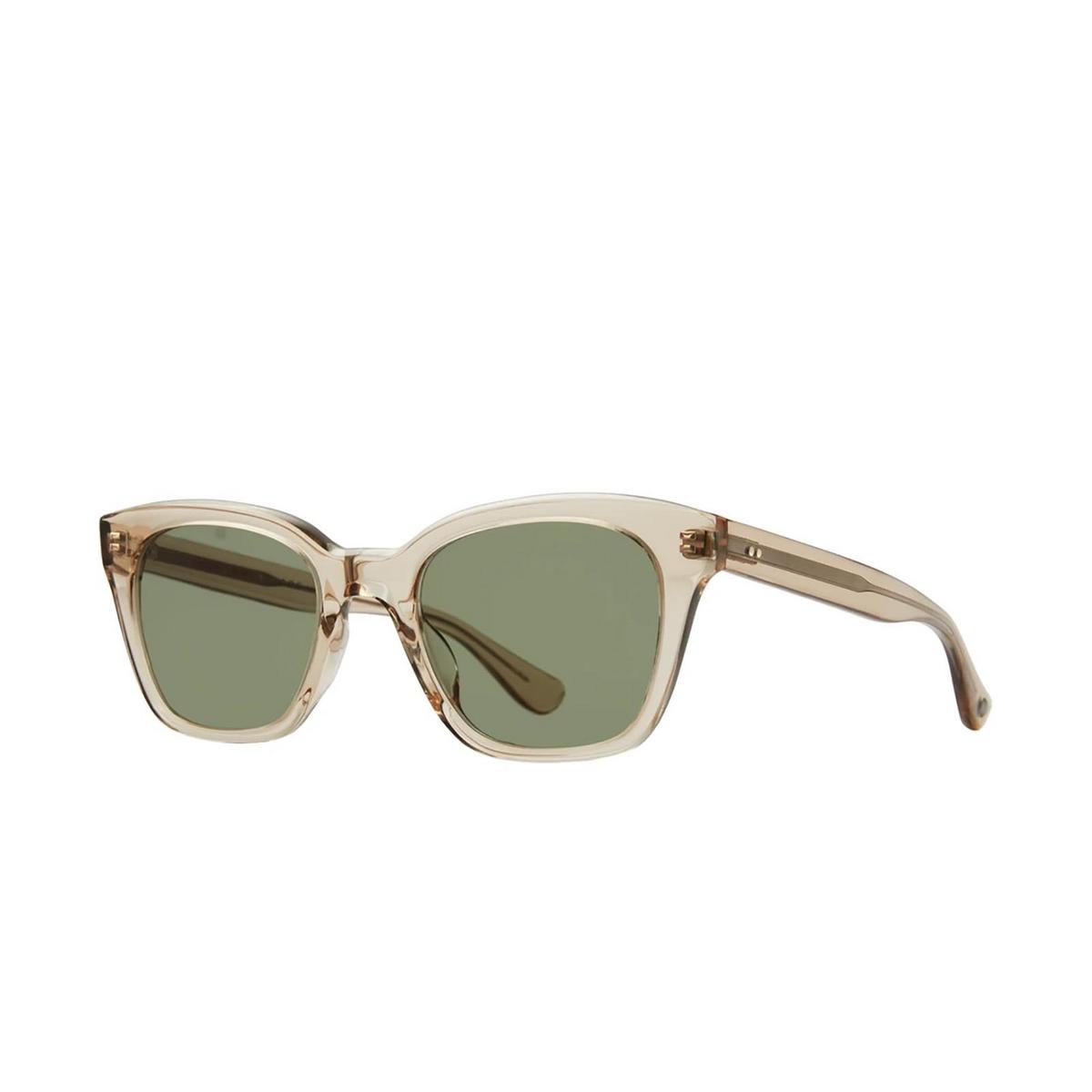 Garrett Leight® Square Sunglasses: Glco X Clare V. Nouvelle Sun color Bière Bie.