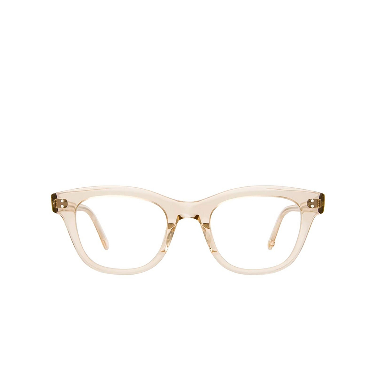 Garrett Leight® Cat-eye Eyeglasses: Glyndon color Shell Crystal Shcr.