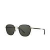 Garrett Leight® Square Sunglasses: Grant Sun color Black - Black Bk-g-bk/sfpgy - product thumbnail 2/2.