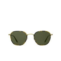 Garrett Leight® Square Sunglasses: Grant Sun color Tokyo Tortoise - Antique Gold Tt-atg-ah/sfpgn.