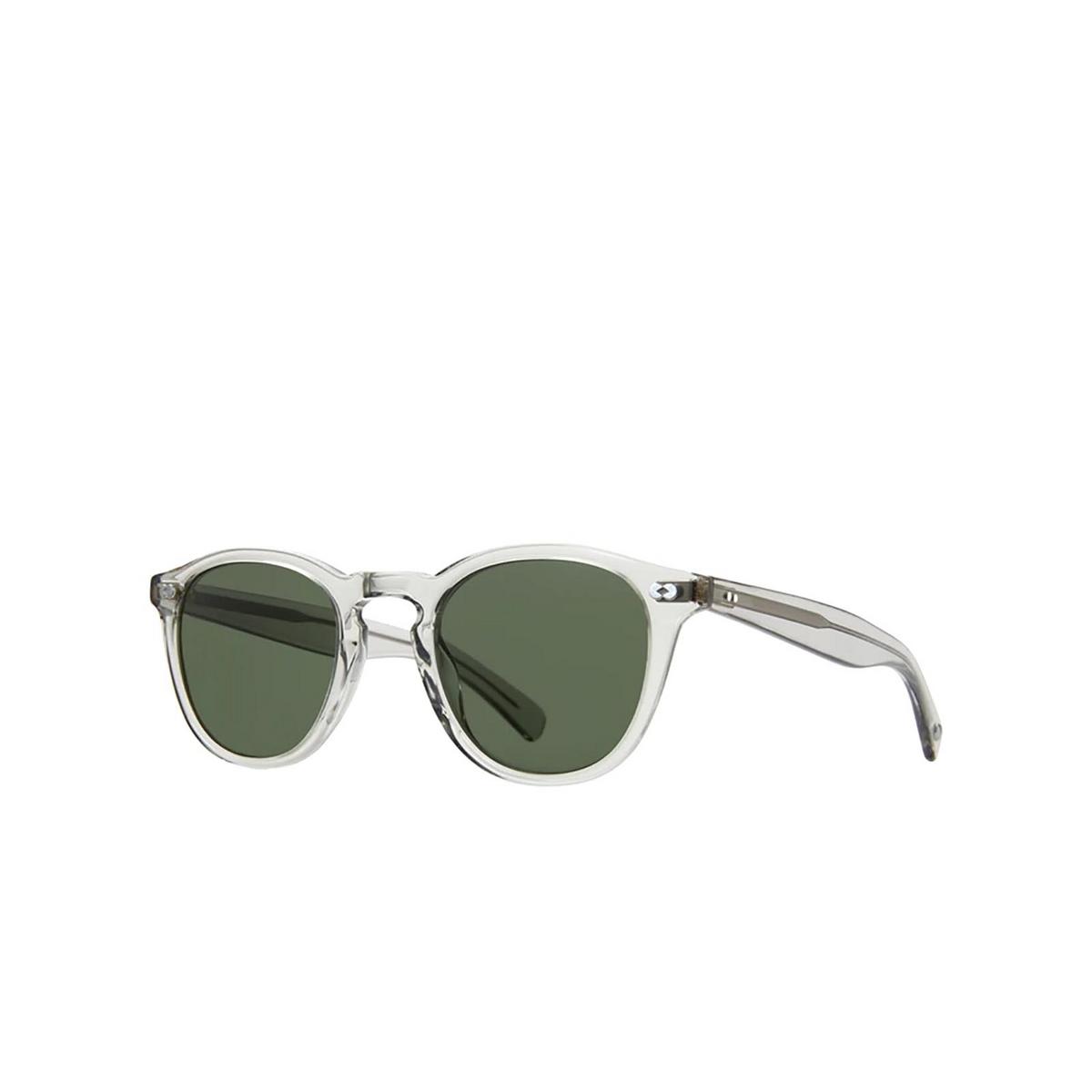 Garrett Leight® Square Sunglasses: Hampton X Sun color Llg LLG/PG15.