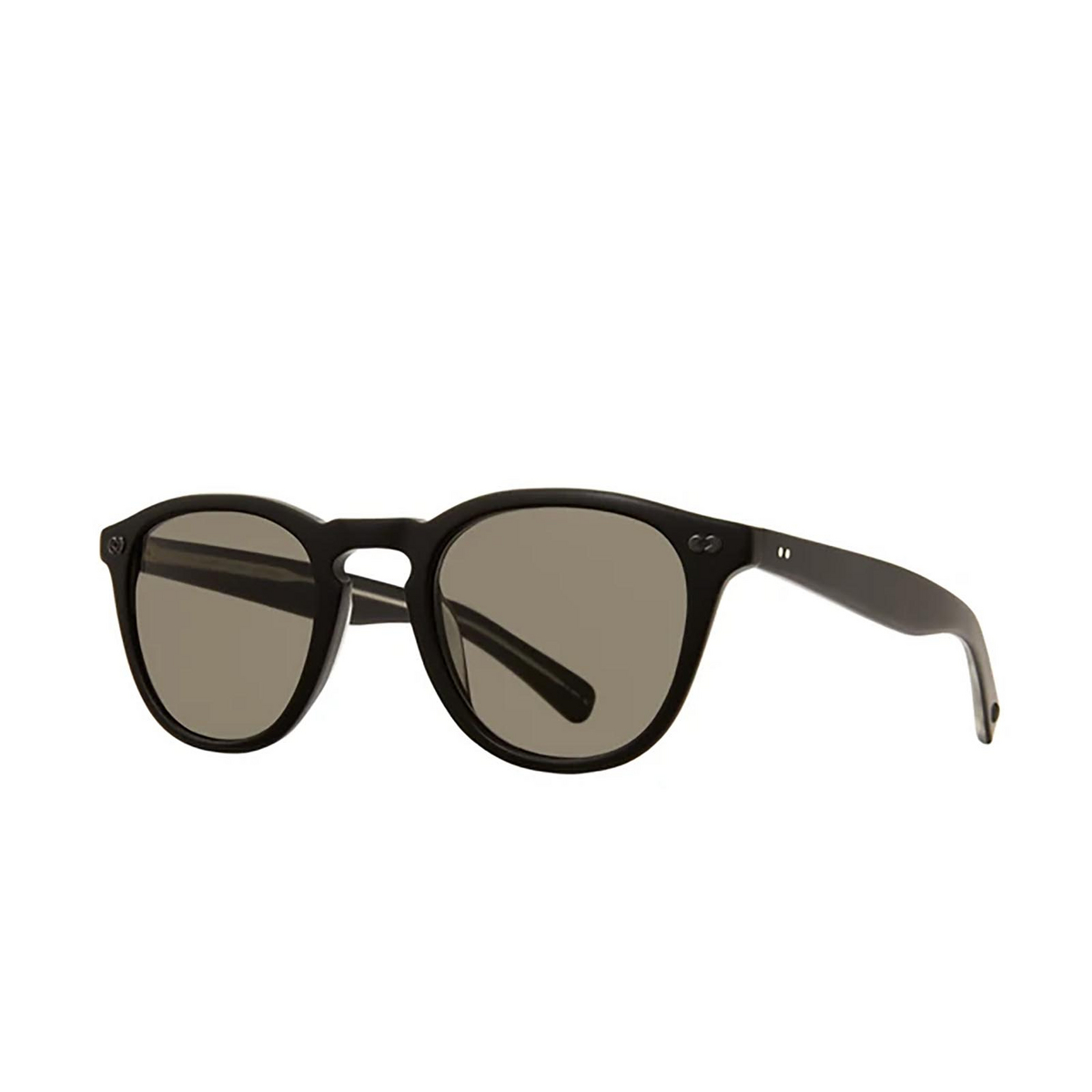 Garrett Leight® Square Sunglasses: Hampton X Sun color Matte Black Mbk/pgy.