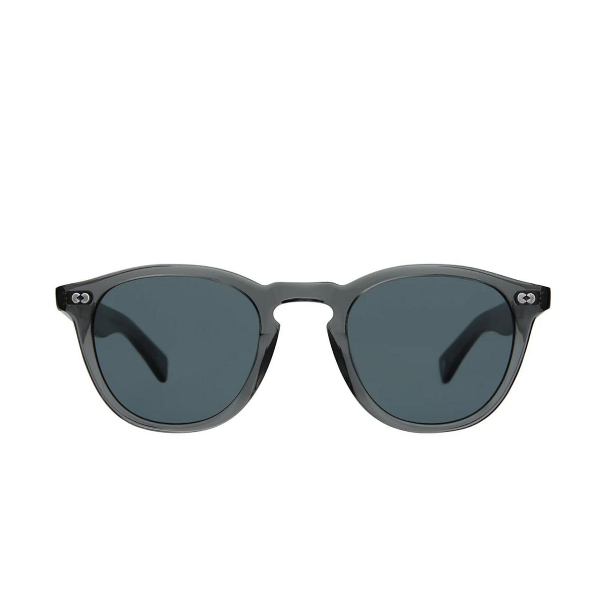 Garrett Leight® Square Sunglasses: Hampton X Sun color Sea Grey Sgy/bs.