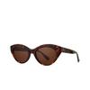 Garrett Leight® Cat-eye Sunglasses: Juvee Sun color 1965 Tortoise 1965TO/O - product thumbnail 2/2.