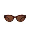 Garrett Leight® Cat-eye Sunglasses: Juvee Sun color 1965 Tortoise 1965TO/O - product thumbnail 1/2.