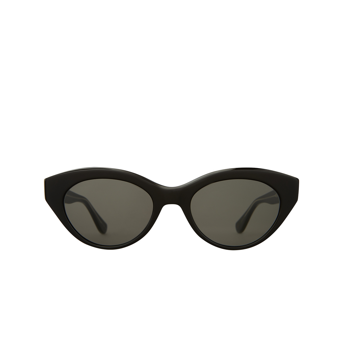 Garrett Leight® Cat-eye Sunglasses: Juvee Sun color Black Bk/gry.