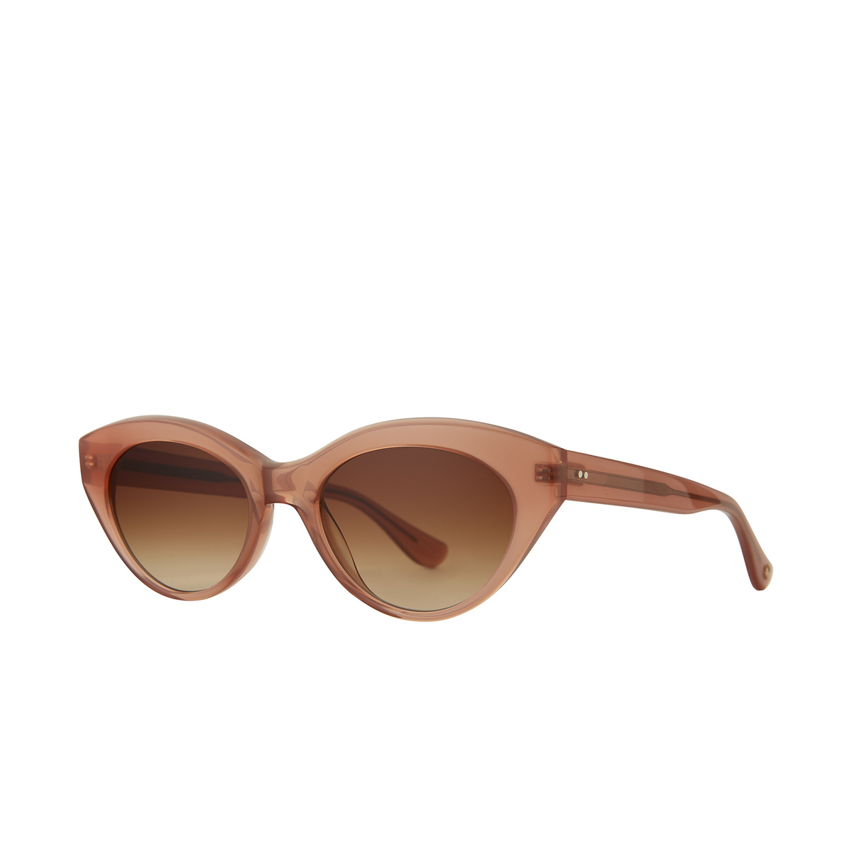 Garrett Leight® Cat-eye Sunglasses: Juvee Sun color Dahlia Dah/brntg.