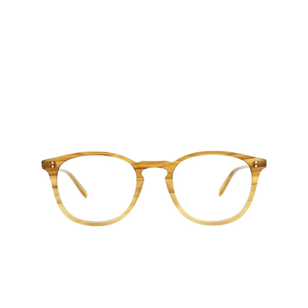 Garrett Leight® Square Eyeglasses: Kinney color Blonde Tortoise Fade Btf.