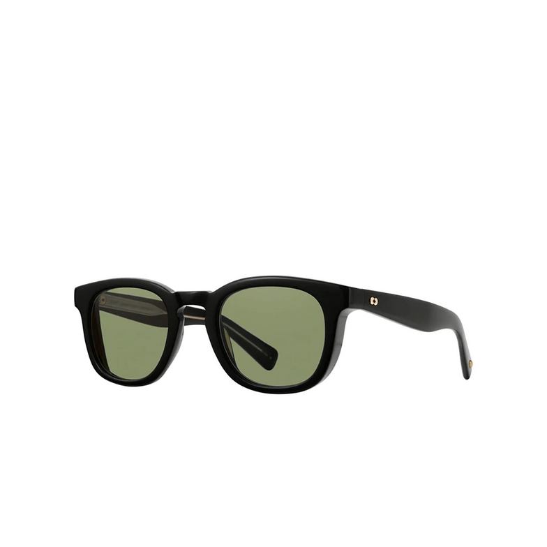 Garrett Leight® Square Sunglasses: Kinney X Sun color Black Bk-vvg.