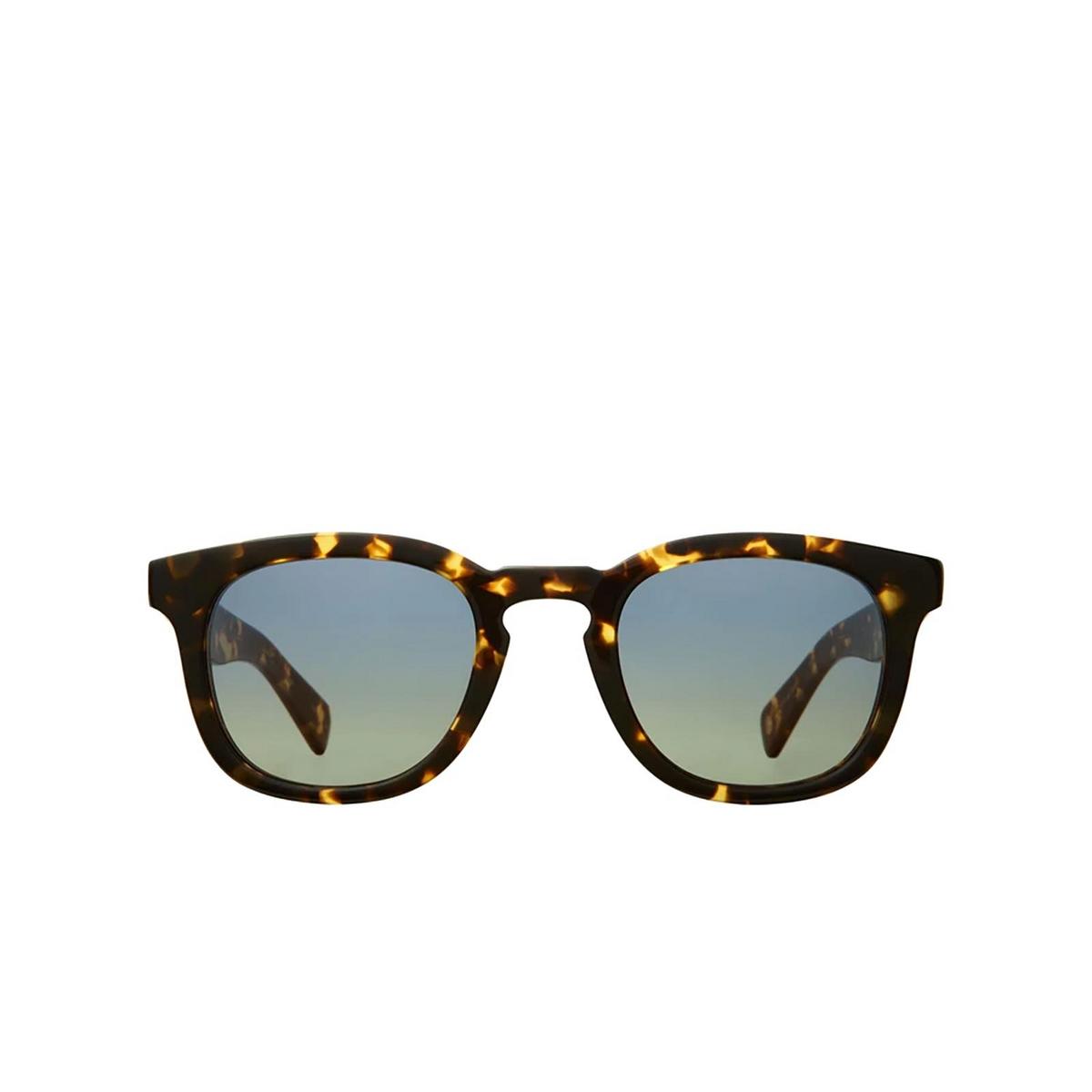 Garrett Leight® Square Sunglasses: Kinney X Sun color Tuscan Tortoise Tut-swpg.