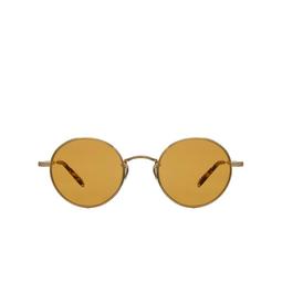 Garrett Leight® Sunglasses: Lovers Sun color Gold-block Tort G-blot/pmp.