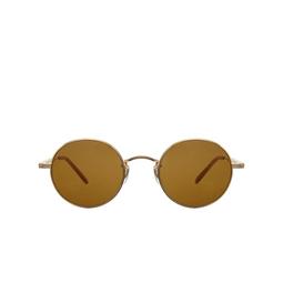 Garrett Leight® Sunglasses: Lovers Sun color Matte Gold-amber Mg-ah/pbn.