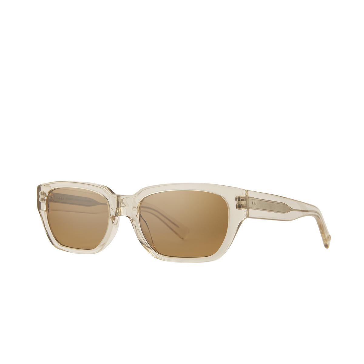 Garrett Leight® Rectangle Sunglasses: Mayan Sun color Prosecco Pro/sfhm.