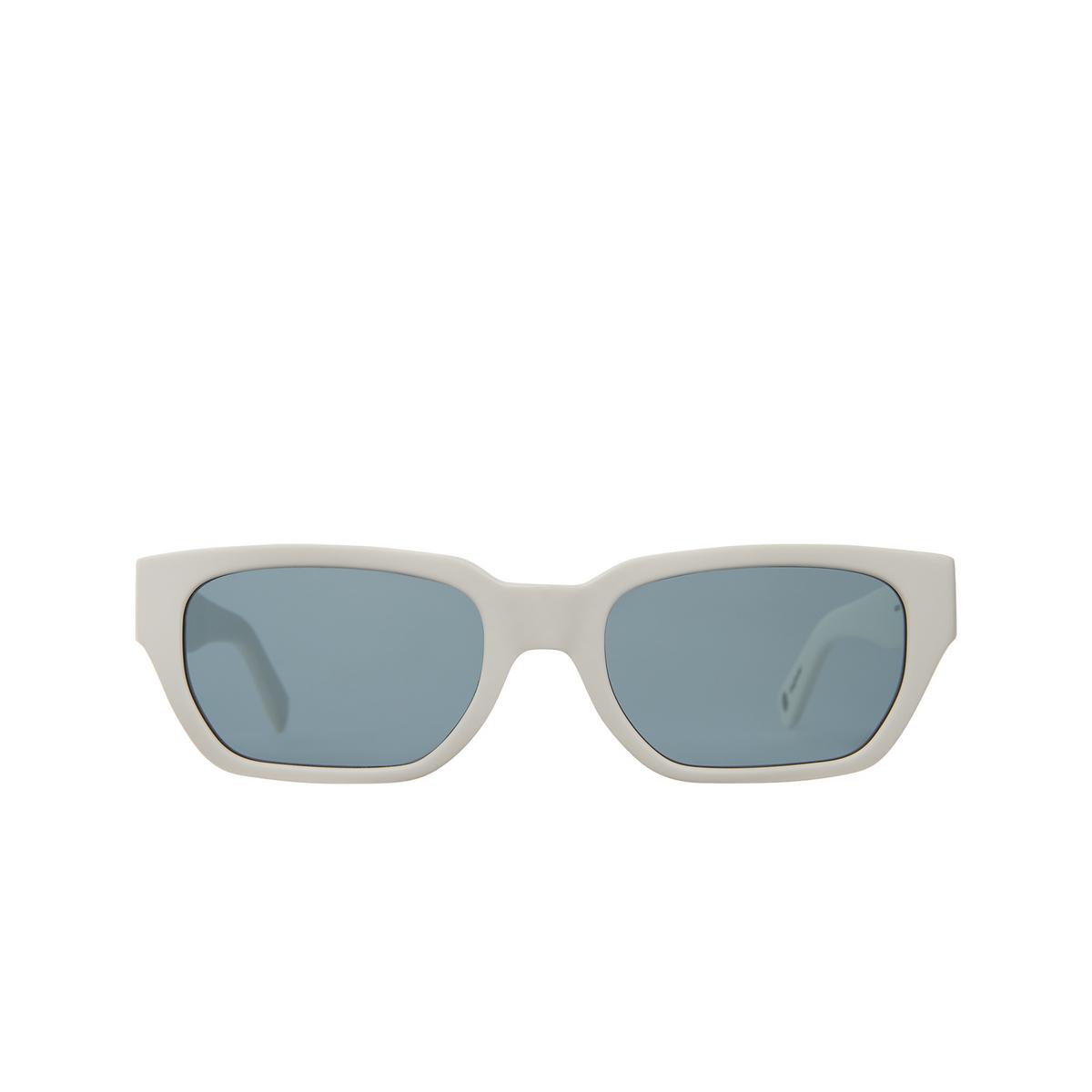 Garrett Leight® Rectangle Sunglasses: Mayan Sun color Teen Spirit Teespi/sfpac - front view.