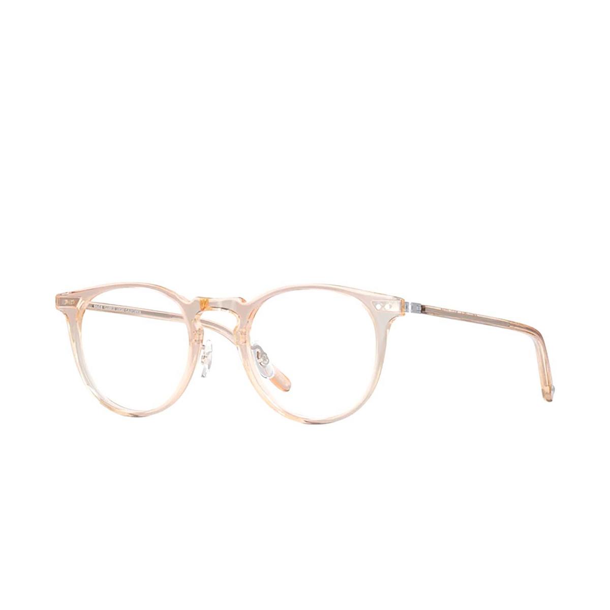 Garrett Leight® Round Eyeglasses: Ocean color Pink Crystal Pcy-rg.