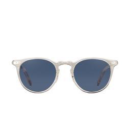 Garrett Leight® Sunglasses: Ocean Sun color Champagne-silver Ch-s-nvy.