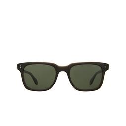 Garrett Leight® Square Sunglasses: Palladium Sun color Break On Through BOT/PG15.