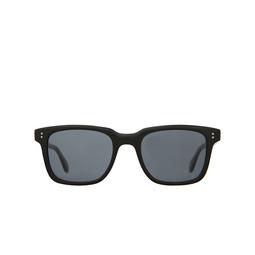 Garrett Leight® Square Sunglasses: Palladium Sun color Matte Black Mbk/bs.
