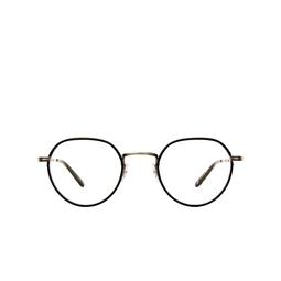 Garrett Leight® Eyeglasses: Robson W color Black-pewter Bk-pw-bk.