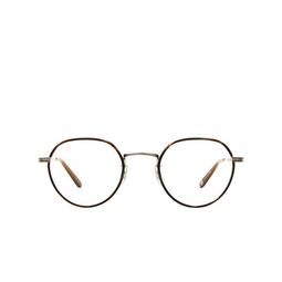 Garrett Leight® Eyeglasses: Robson W color Dark Wave Rock-silver Dkwr-bs-hzl.