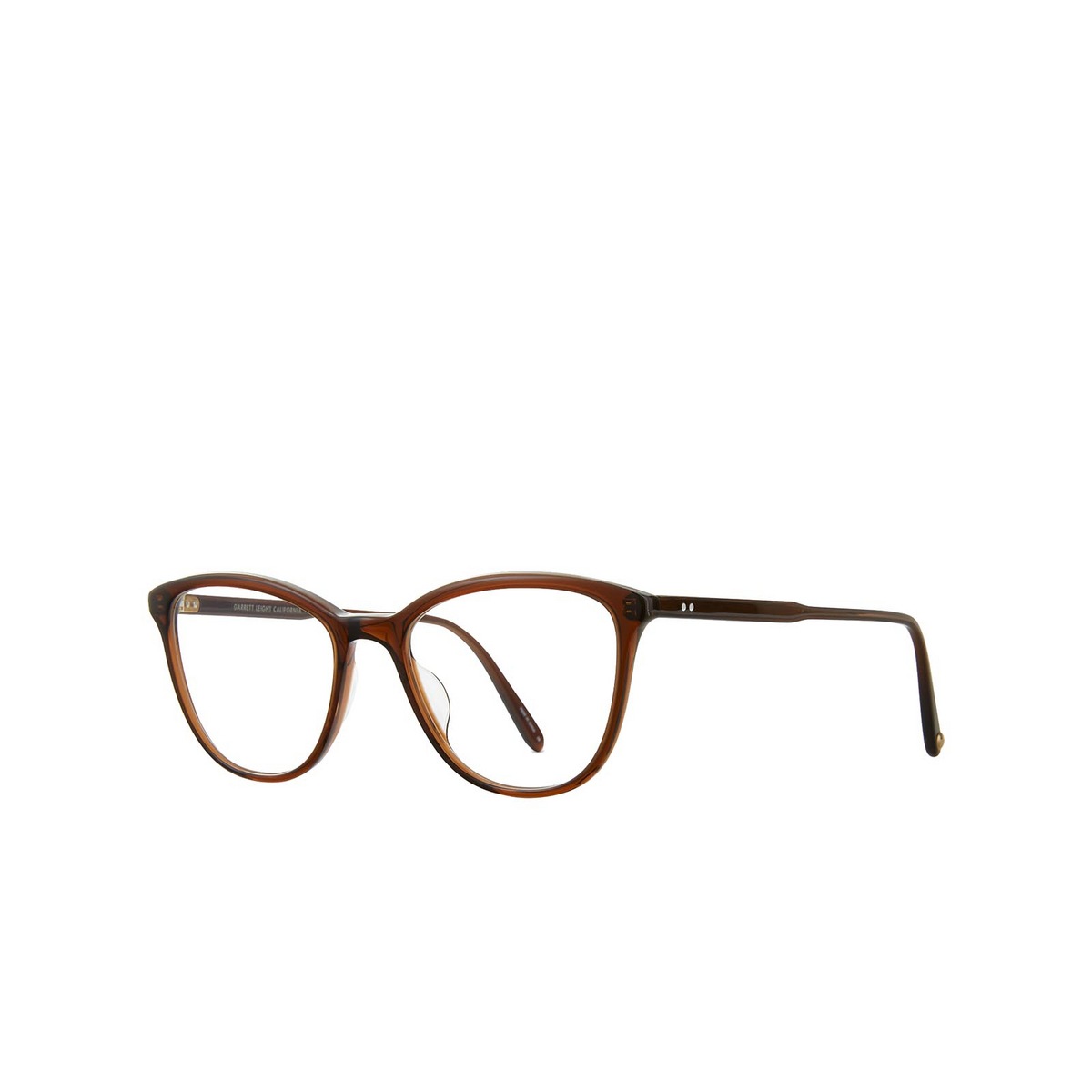 Garrett Leight® Butterfly Eyeglasses: Star color Henna Hen.