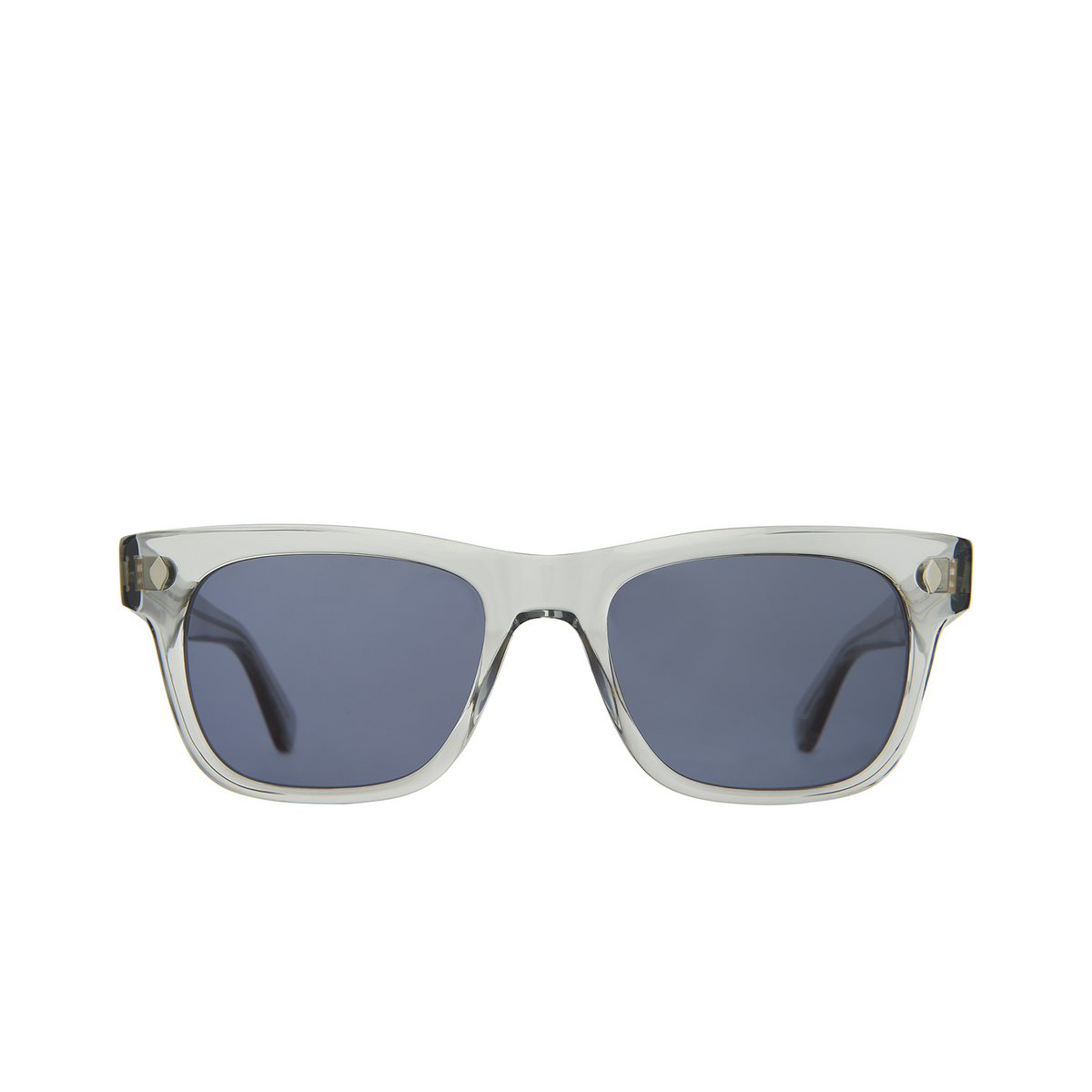 Garrett Leight® Square Sunglasses: Troubadour Sun color Llg Llg/nvy.
