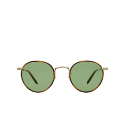 Garrett Leight® Sunglasses: Wilson Sun color Demi Blonde-gold Db-g-td/sfpgrn.