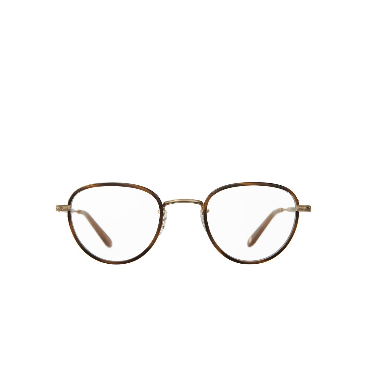 Garrett Leight® Square Eyeglasses: Wiltern color Demi Blonde - Matte Gold Db-mg-al.