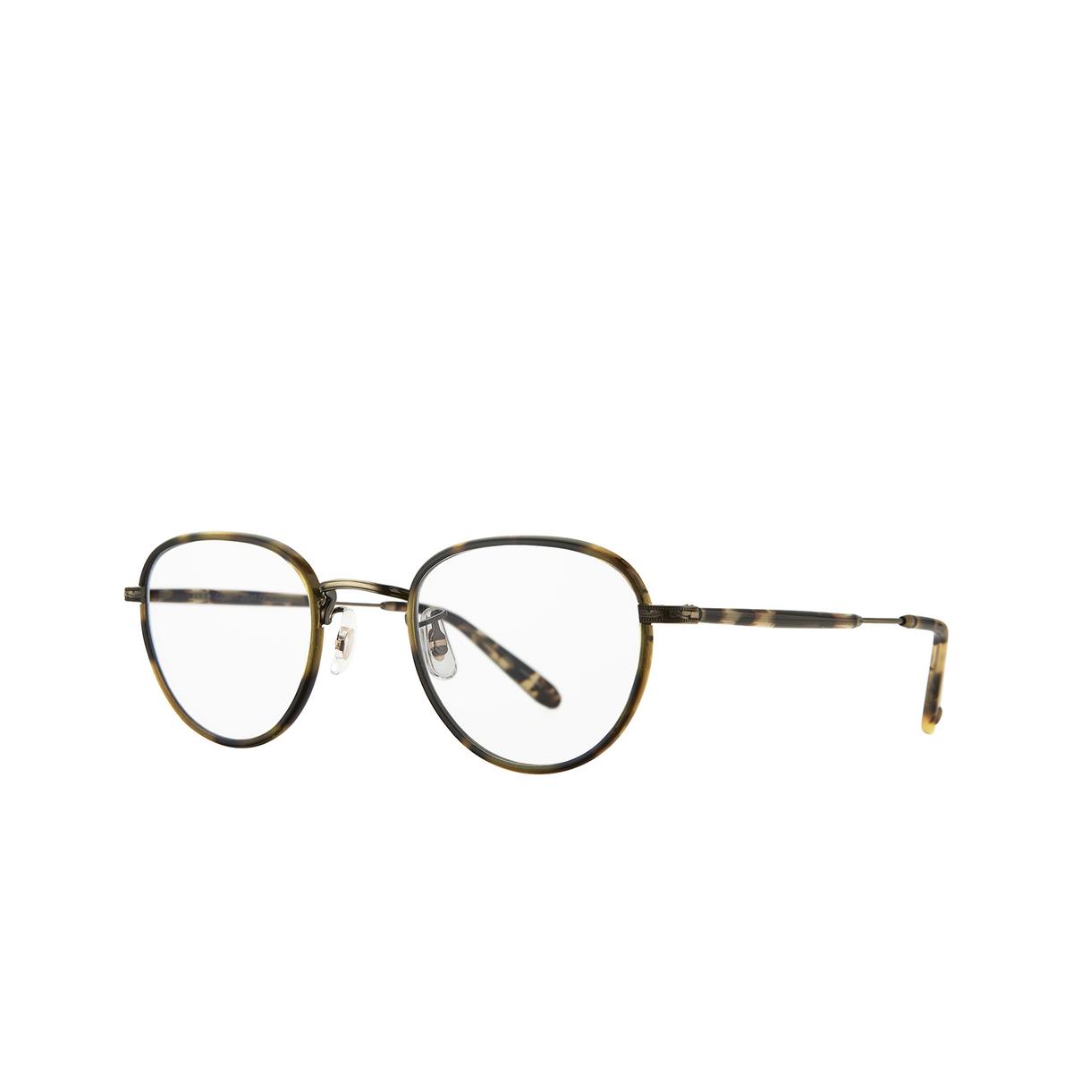 Garrett Leight® Square Eyeglasses: Wiltern color Tortoise - Brushed Gold To-bg-yt.