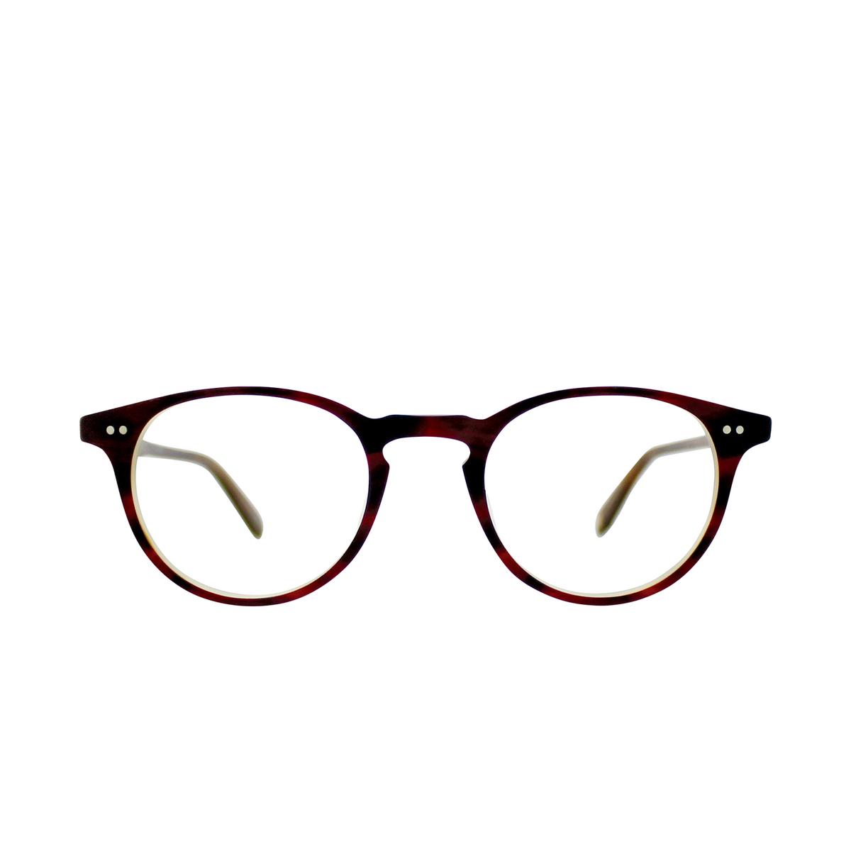 Garrett Leight® Round Eyeglasses: Winward color Matte Whiskey Tortoi Mwht.