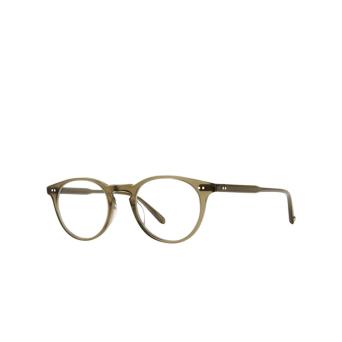 Garrett Leight® Round Eyeglasses: Winward color Olio.