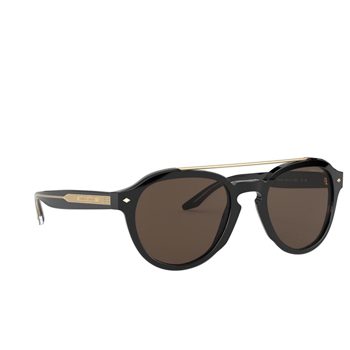 Giorgio Armani® Square Sunglasses: AR2189 color Black 500173.