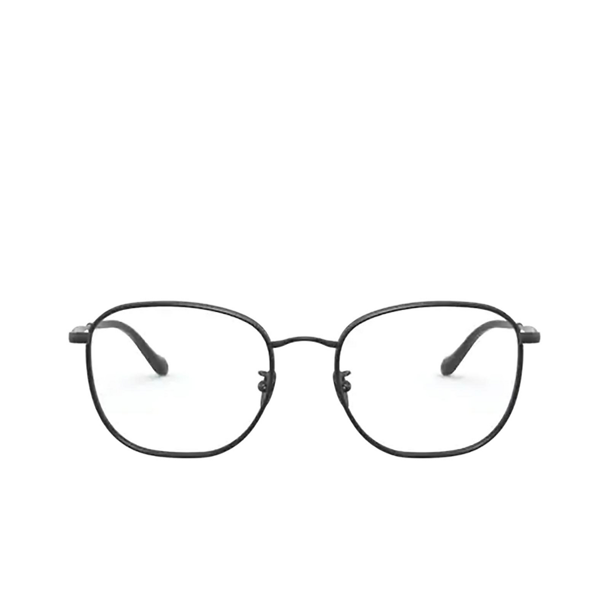Giorgio Armani® Square Eyeglasses: AR5105J color Black&matte Black 3001 - front view.