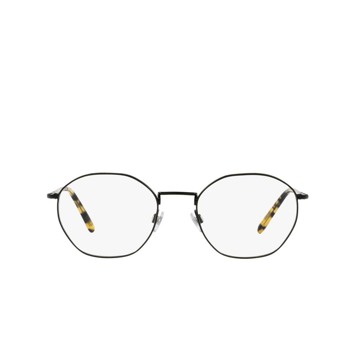 Giorgio Armani® Square Eyeglasses: AR5107 color Matte Black 3001 - front view.