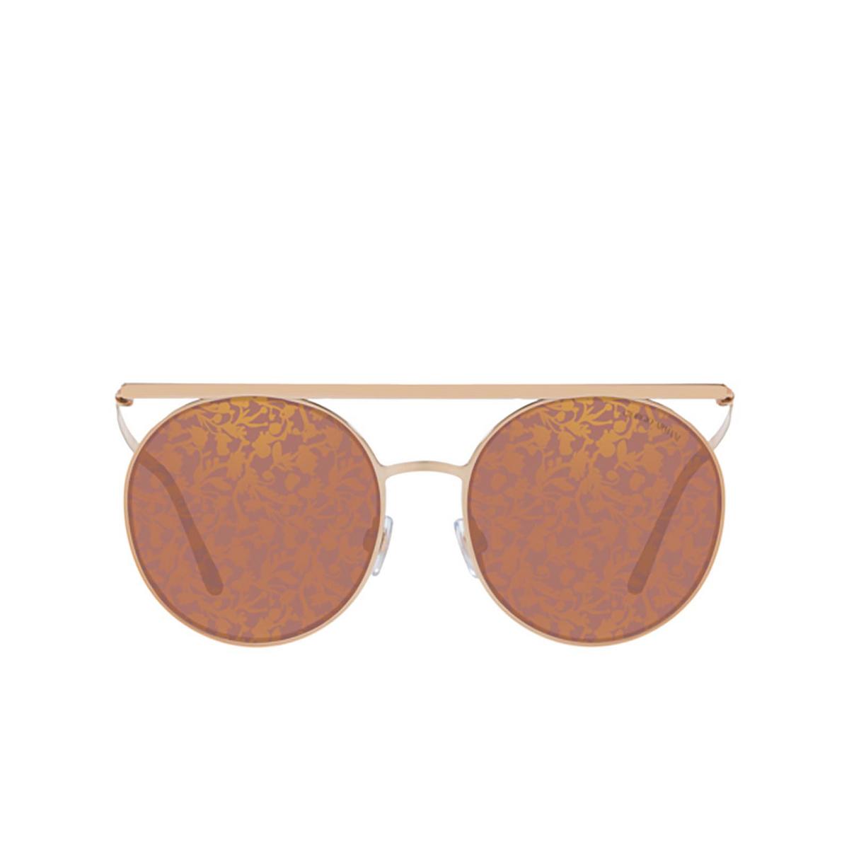Giorgio Armani® Round Sunglasses: AR6069 color 3011U2 - front view.