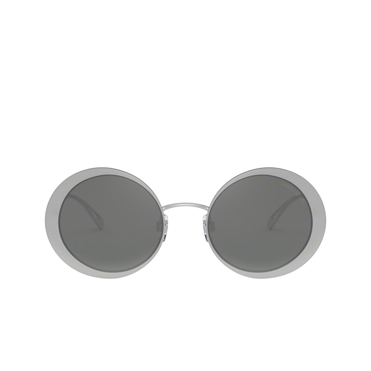 Giorgio Armani® Round Sunglasses: AR6087 color 30156G - front view.