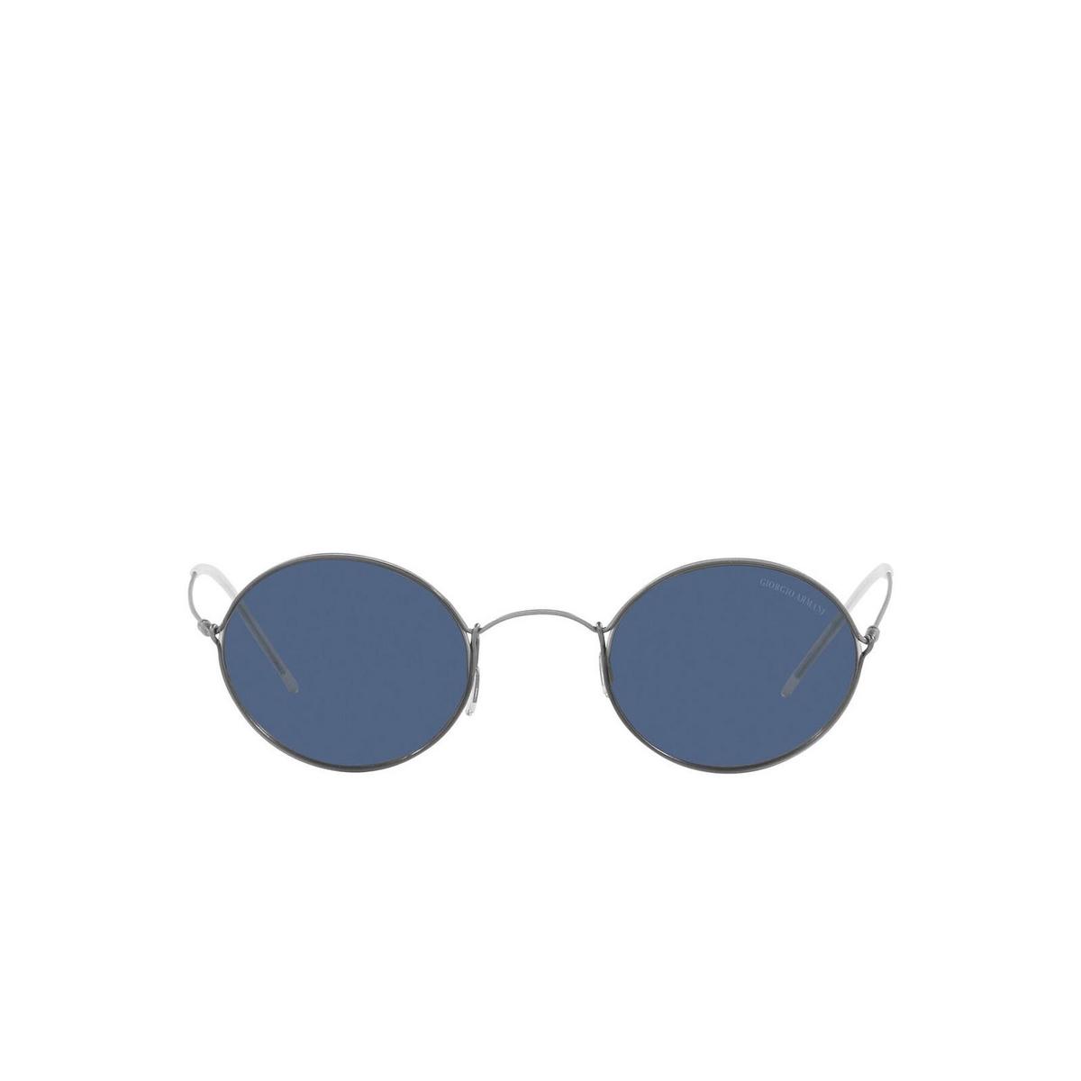 Giorgio Armani® Oval Sunglasses: AR6115T color Grey 300380.