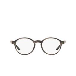 Giorgio Armani® Eyeglasses: AR7004 color Matte Striped Grey 5403.