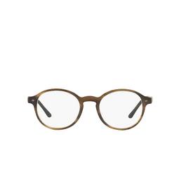 Giorgio Armani® Eyeglasses: AR7004 color Matte Striped Brown 5405.