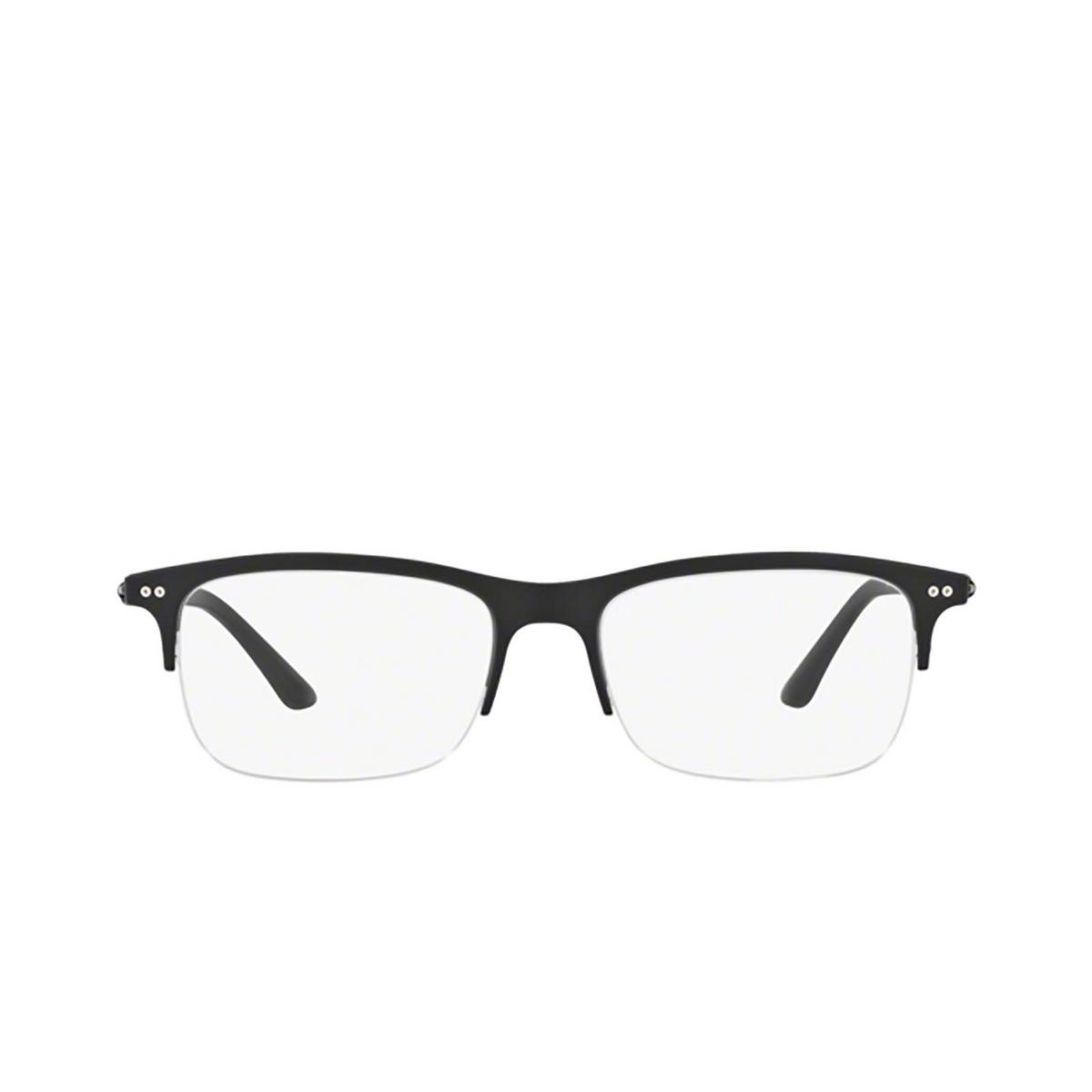 Giorgio Armani® Rectangle Eyeglasses: AR7113 color 5042 - front view.