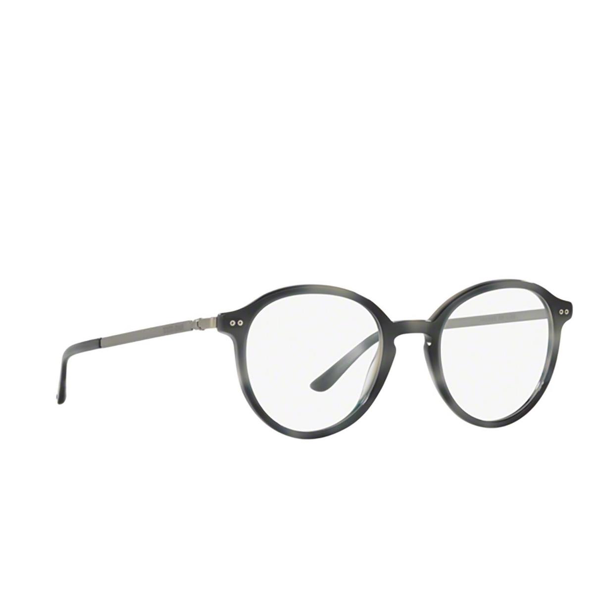 Giorgio Armani® Round Eyeglasses: AR7124 color 5572 - three-quarters view.